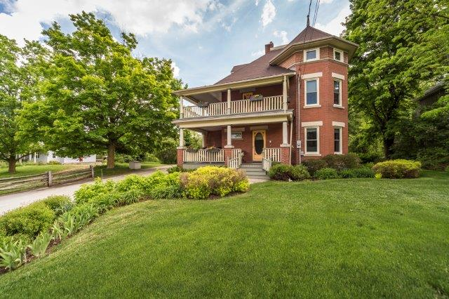 Flawless Red Brick Victorian in the Village of Kimberley