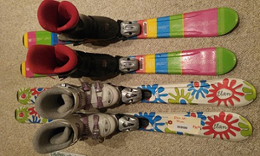 Children's Skis and Boots