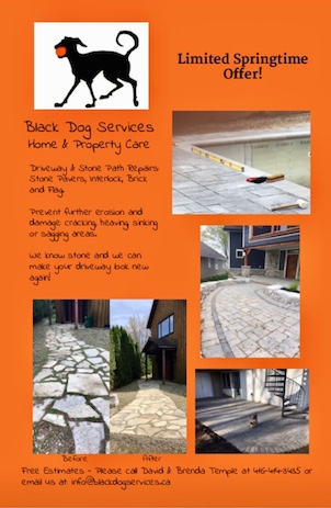 Brick and Flagstone Repairs