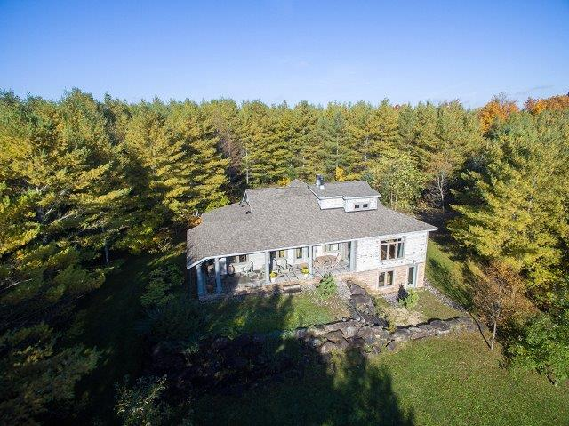 Beautiful Country Home on 19 Acres – Rocky Saugeen River
