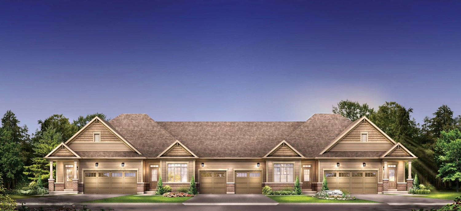 Now Selling Bungalow & Bungaloft Townhomes